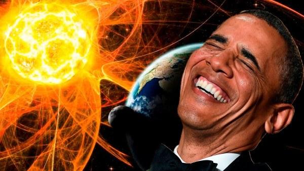 Obama Alarma al Mundo ante la Llegada de una Tormenta Solar