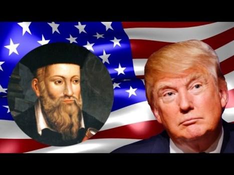¿Vio Nostradamus que Donald Trump está en peligro?