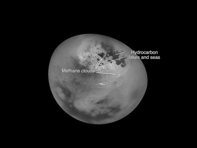 Así se mueven las nubes en el Verano de Titán