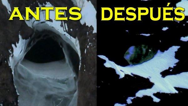 ¿Quién está Censurando las Extrañas Anomalías de la Antártida?