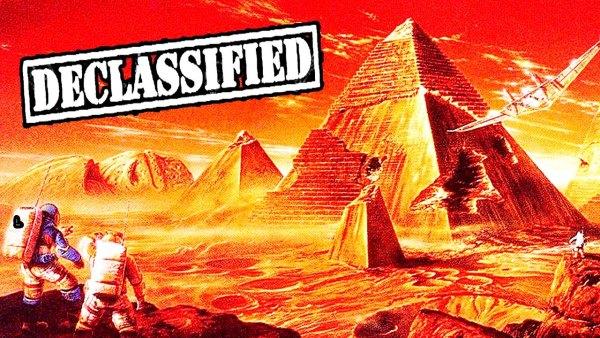 La CIA Revela Que en Marte hay Pirámides y Ciudades Megalíticas