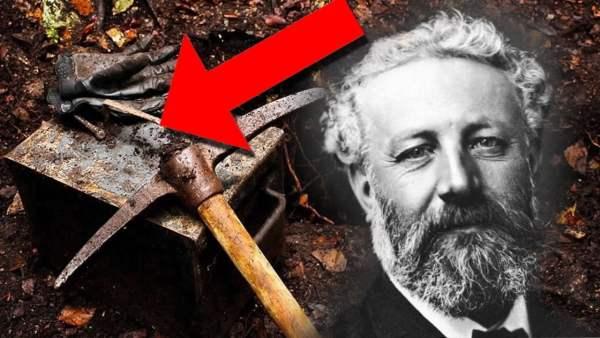 CÁPSULA DEL TIEMPO con los secretos de Julio Verne