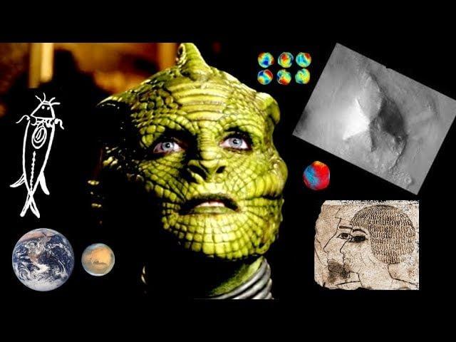 Historia del arquitecto de las pirámides de Marte y La Tierra