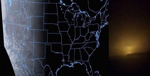 Algo misterioso parece estar sucediendo en el cielo nocturno