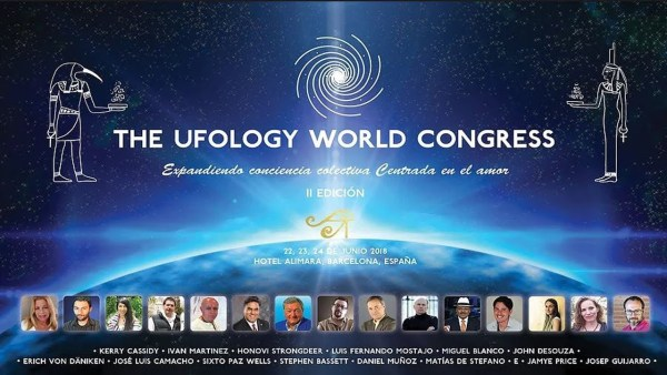 Próxima conferencia en Barcelona JUNIO 2018 – The Ufology World Congress