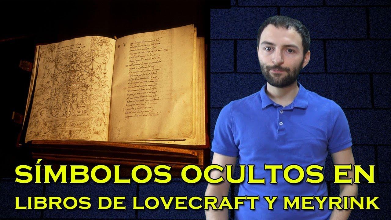 Lovecraft y Gustav Meyrink ocultaron en sus libros ALGO SORPRENDENTE