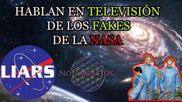 Hablan en TELEVISIÓN sobre los FAKES de la NASA