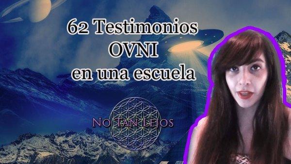 62 testigos OVNI en una escuela y aviso de novedades en el canal