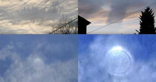 Apariciones extrañas en el cielo continúan