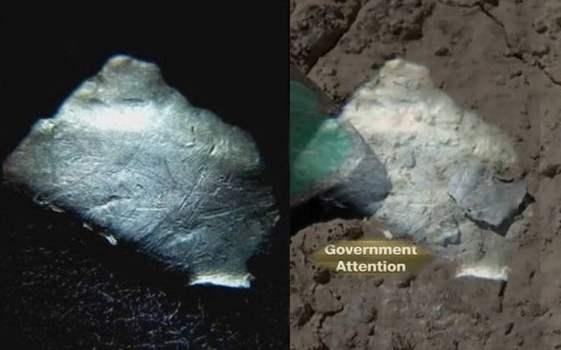 Metal OVNI encontrado en Roswell atrae interés de la agencia gubernamental