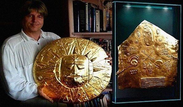 El antiguo mapa estelar inca de oro sigue siendo un misterio