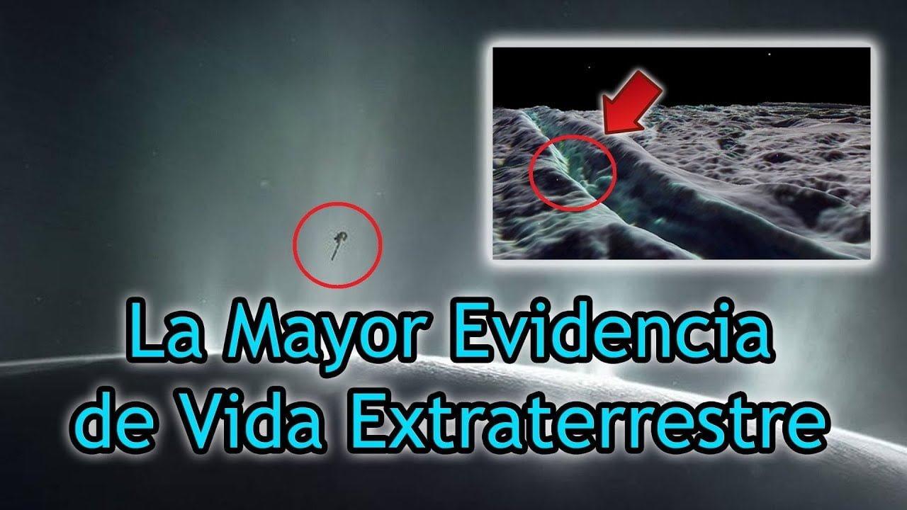 Hallan Grandes Evidencias de Vida Extraterrestre en la Luna Encélado