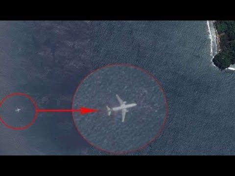 ¿Es el el vuelo desaparecido MH370 Malaysia Airlines? Aclarando el Misterio de Avión Sumergido