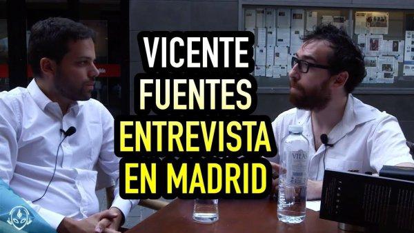 Vicente Fuentes y Alan Stivelman Hablan de OVNIS en Madrid