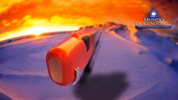 Inexplicable Viaje en la Antártida por un Objeto Desconocido