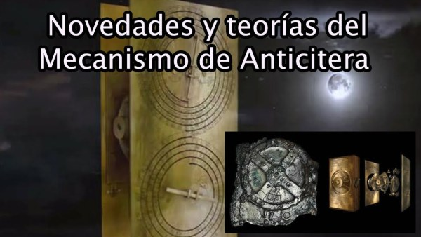 Novedades y teorías sobre el Mecanismo de Anticitera