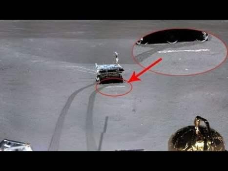 Foto Demuestra que el alunizaje de la sonda china Chang'e 4 en LA CARA OCULTA DE LA LUNA es Falso