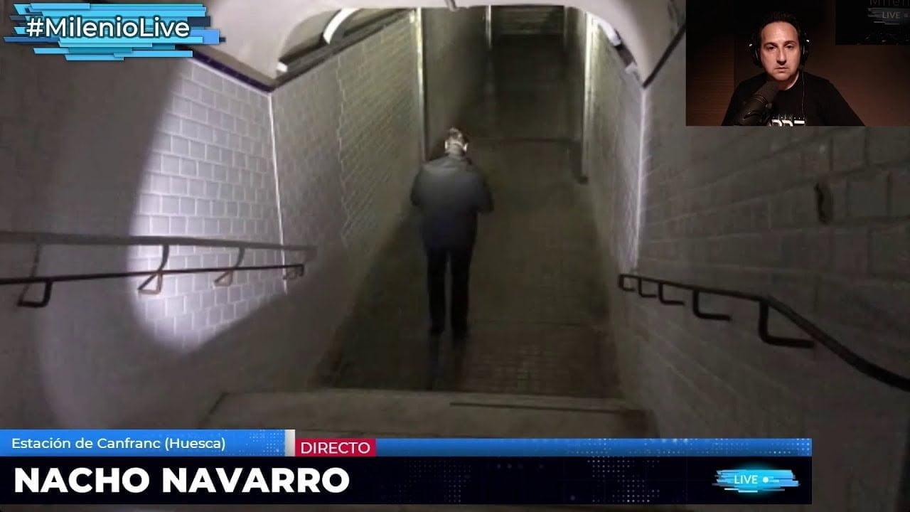 Primera experiencia de aislamiento de Nacho Navarro en Canfranc #MilenioLive