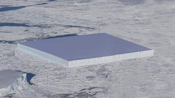 😲 Icebergs Cuadrados en la Antártida 😲