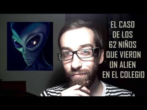 El caso de los 62 niños que vieron un alien en el colegio