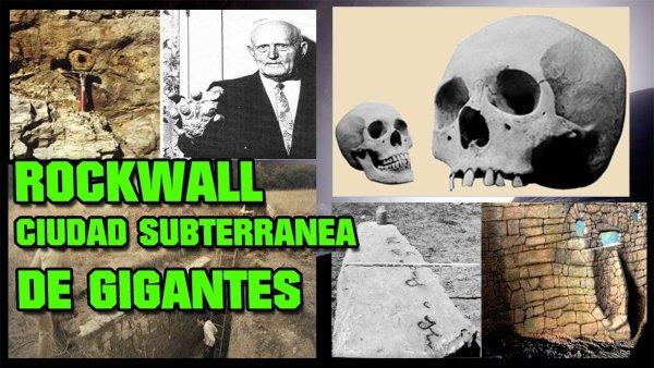 Rockwall – la INMENSA ciudad subterránea con esqueletos GIGANTES | VM Granmisterio