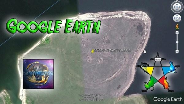 Google Earth Aparece Misterioso Pentagrama o Símbolo Satánico en Rusia