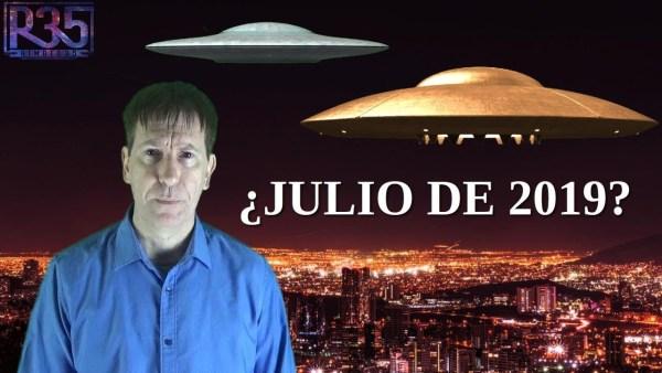 ¿HABRÁ CONTACTO MASIVO CON ALIENS EL PROXIMO MES DE JULIO?