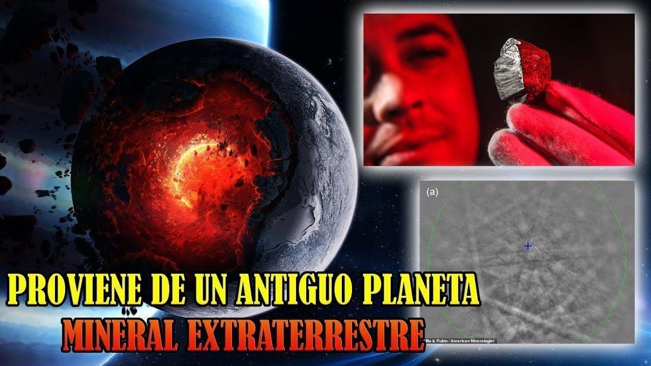 Descubren Dentro de un Meteorito un Mineral Nunca Visto en la Naturaleza