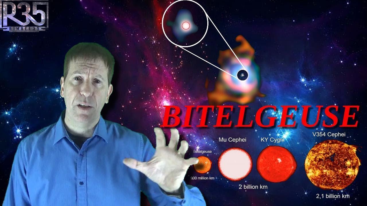 ¿Qué pasará si BETELGEUSE Explota? La Estrella que Será SUPERNOVA