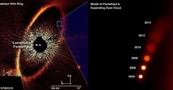 Astrónomos descubren misterioso planeta rojo que nunca existió