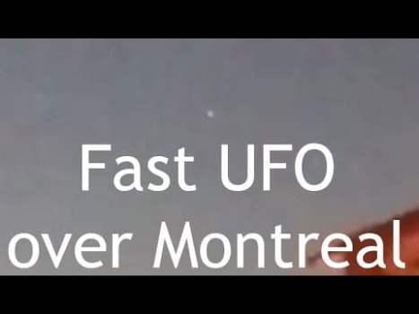 VIDEO OVNI: Objeto rápido sobre Montreal, Canadá 22-mayo-2020