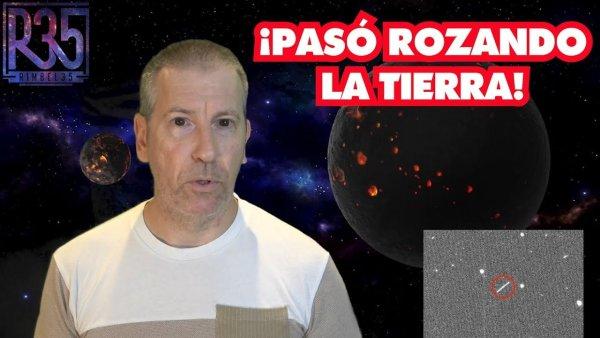 NAVE ALIEN PASÓ ROZANDO LA TIERRA: ¿Lo han OCULTADO Averiando Observatorio?