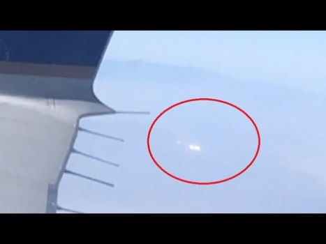 OVNI filmado desde un avión sobre Kingman, Arizona, 9 de septiembre de 2020