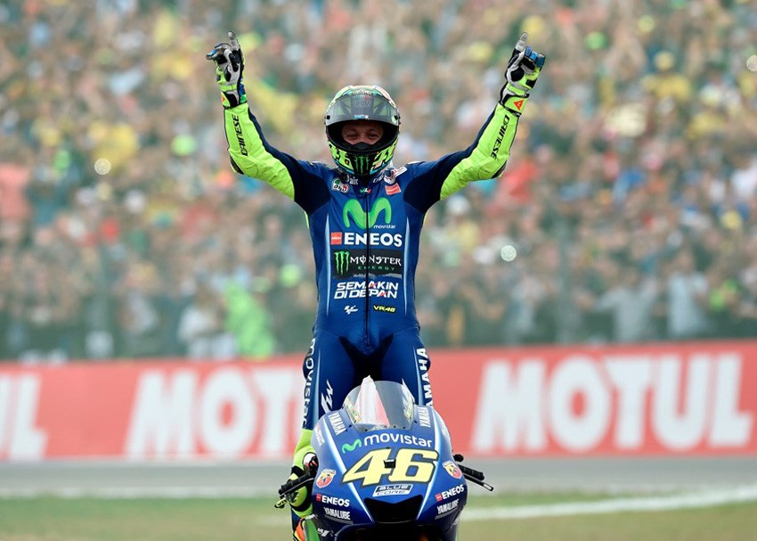Valentino Rossi ganó en Assen y puso fin a una racha de casi un año sin triunfos.