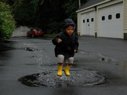 Brincadeiras para os dias de chuva