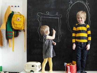 quadro negro para decorar o quarto