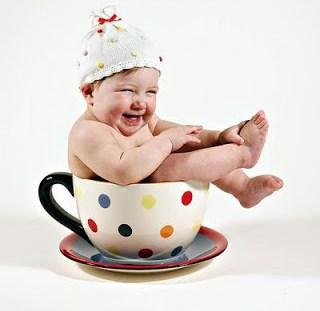 chá de bebê ou chá de fraldas