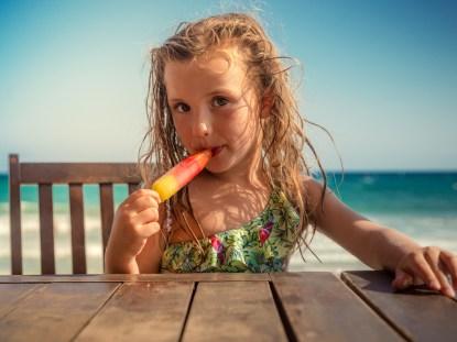 Como alimentar o seu filho no Verão