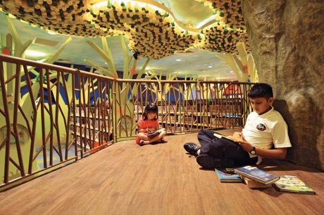 Bibliotecas infantis espetaculares ao redor do mundo