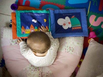 um bebê pode gostar de ler