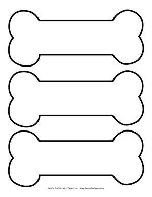 bone shape coloring pages - photo#24