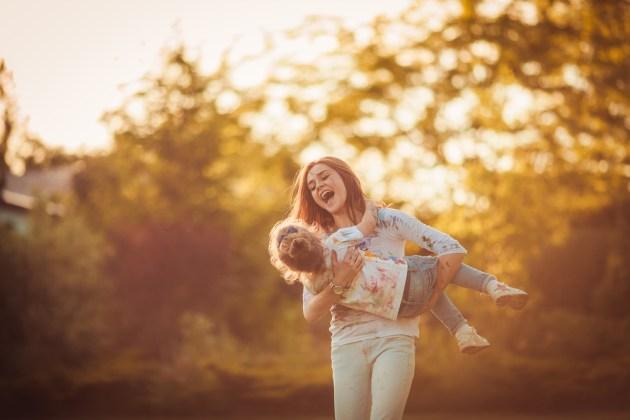 Não existe filho feliz quando a mãe não está feliz