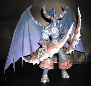 warcraft-illidan-stormrage-papercraft