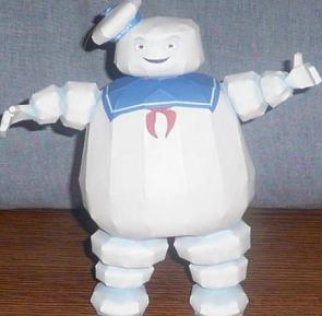 Stay+Puft+Marshmallow+Man+Papercraft