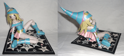 Dark Magician V2 Papercraft