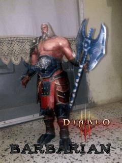 diablo barbarian papercraft