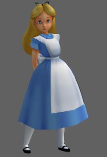 Disney's Alice in Wonderland - Alice Papercraft
