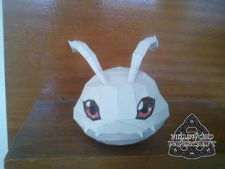 Digimon Koromon Papercraft