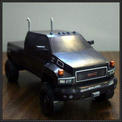 Ironhide-Autobot-Vehicle-Mode-Paper-Model