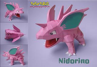 nidorino_papercraft